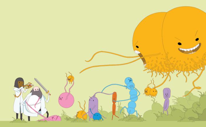 microfluidics and superbugs