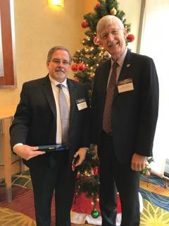 Doug Oliver, left, President of the Regenerative Outcomes Foundation